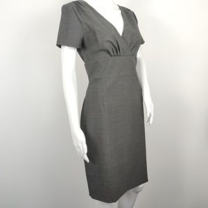 BANANA REPUBLIC Sheath Dress Stretch Wool